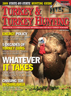 Subscribe and Get the Winter 2008 Issue of Turkey & Turkey Hunting magazine!