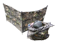 Ol Tom Hide-N-Stuff Decoy & Bag