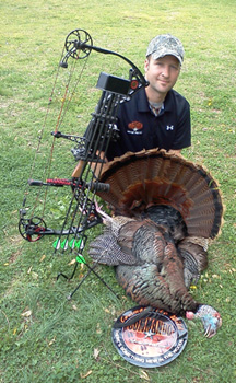 Photo of state record gobbler